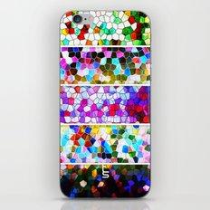 Geometric Worlds (Five Panels Series) iPhone & iPod Skin