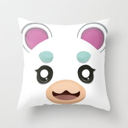 Animal Crossing Flurry Throw Pillow