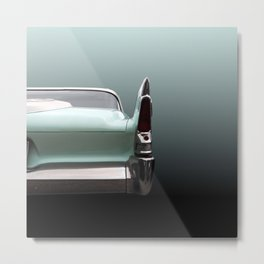 US American classic car 1960 fury Metal Print