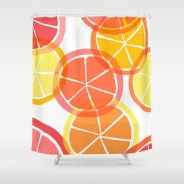 Sumemr Citruses Shower Curtain