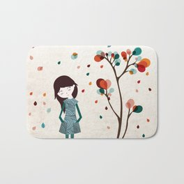Tree of petals Bath Mat