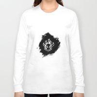 bleach Long Sleeve T-shirts featuring Bleach BW 6 by Bradley Bailey