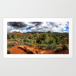 Red Rock State Park Art Print