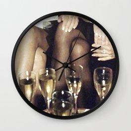 Party*Glamour*Champaign*Girls*Night*Club*Sex*Fun Wall Clock