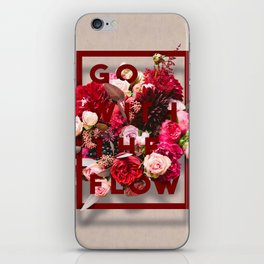 Go With The Flow iPhone Skin