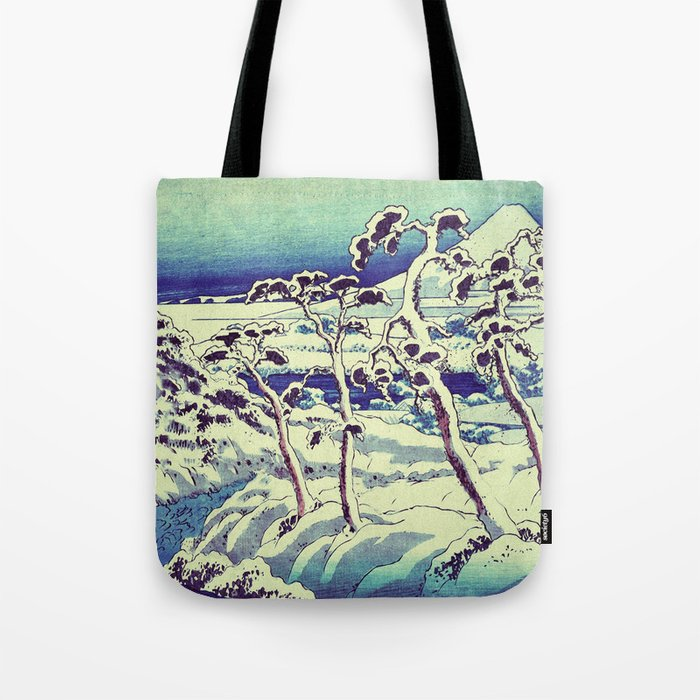 Path in the Snow Tote Bag
