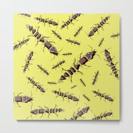 Ants erase and rewind Metal Print