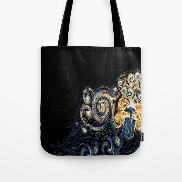 Doctor Who Van Gough Tote Bag