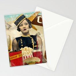 The Waitress Stationery Cards