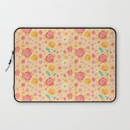 Peach Roses Laptop Sleeve