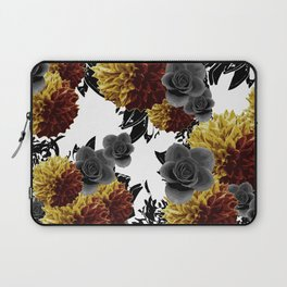 CAFFEINE FLOWERS Laptop Sleeve