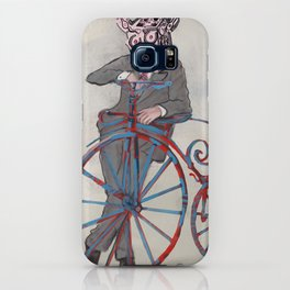 Barry Gangste Farthing - Cream iPhone Case
