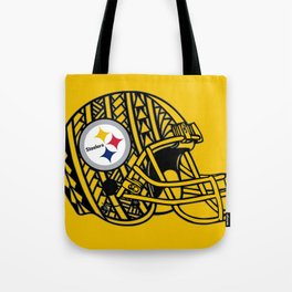 Polynesian style Steelers Tote Bag