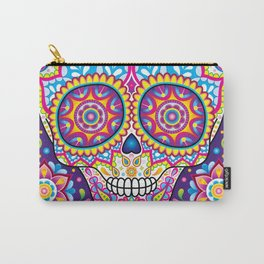 Sugar Skull (Simon) Carry-All Pouch