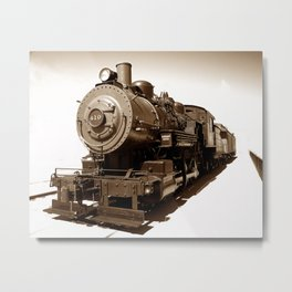 Train Riding The 410 photography Metal Print
