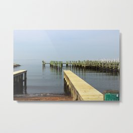 Betterton Pier Metal Print