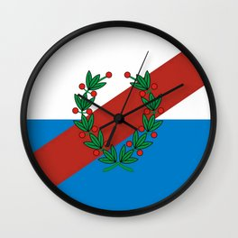Flag of La rioja Wall Clock