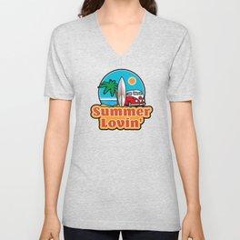 Summer lovin' Unisex V-Neck