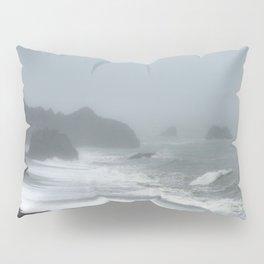 Pacific Northwest Beach Storm Pillow Sham