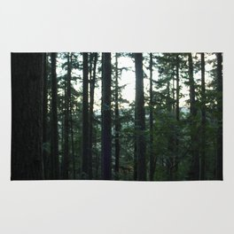 Unfocused in the Forest Rug