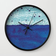 Water and Color 4 Wall Clock