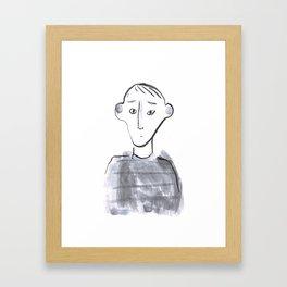conversation 3 Framed Art Print