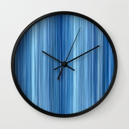 Ambient #1 in Blue Wall Clock
