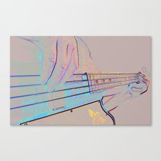 Bass-ics Canvas Print