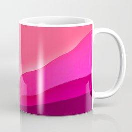Magenta Mountain Tones Coffee Mug