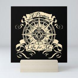 A Pirate's Life for Me Mini Art Print
