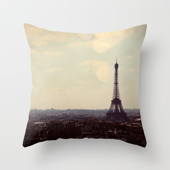 City of Light Throw Pillow