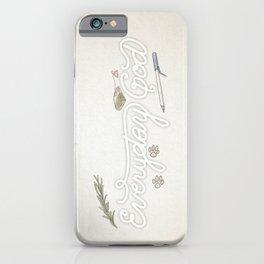 Everyday God iPhone Case