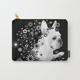 Flower Goddess Frenchie Carry-All Pouch