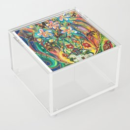House in Bloom Acrylic Box
