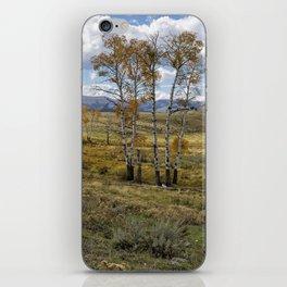 Lamar Valley in the Fall - Yellowstone iPhone Skin