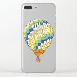 young forever Clear iPhone Case