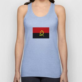 angola country flag Unisex Tank Top