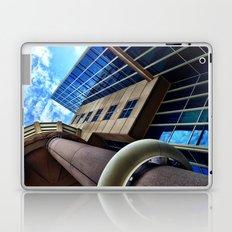 UFO Blue Building  Laptop & iPad Skin