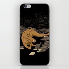 The Book Wyrm iPhone & iPod Skin