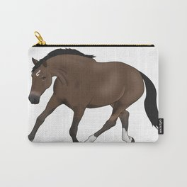 Trotting Horse Carry-All Pouch