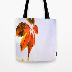 Wind Blown Tote Bag