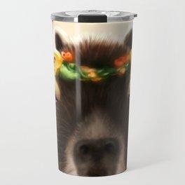 Capybara Shining Travel Mug