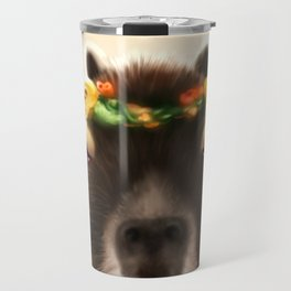 Capybara Shining Travel Mug