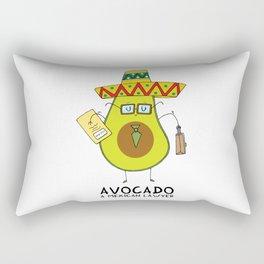 Avocado - A mexican lawyer Rectangular Pillow