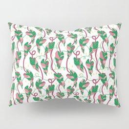 Flowing Vines Blush Pink Pillow Sham