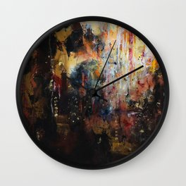 Dominion - by Jenny Bagwill Wall Clock
