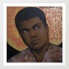 Ali Bumaye Mr.Klevra Art Print
