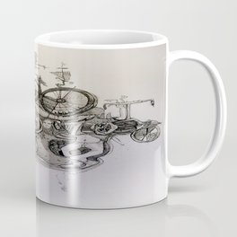 Straddling Cycles Coffee Mug