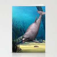 dolphin Stationery Cards featuring Dolphin by Design Windmill