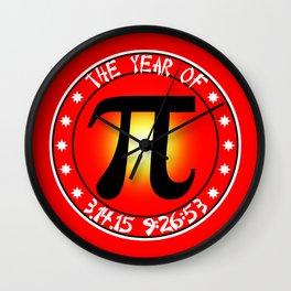 Year of Pi  3/14/15 9:26:53 Wall Clock